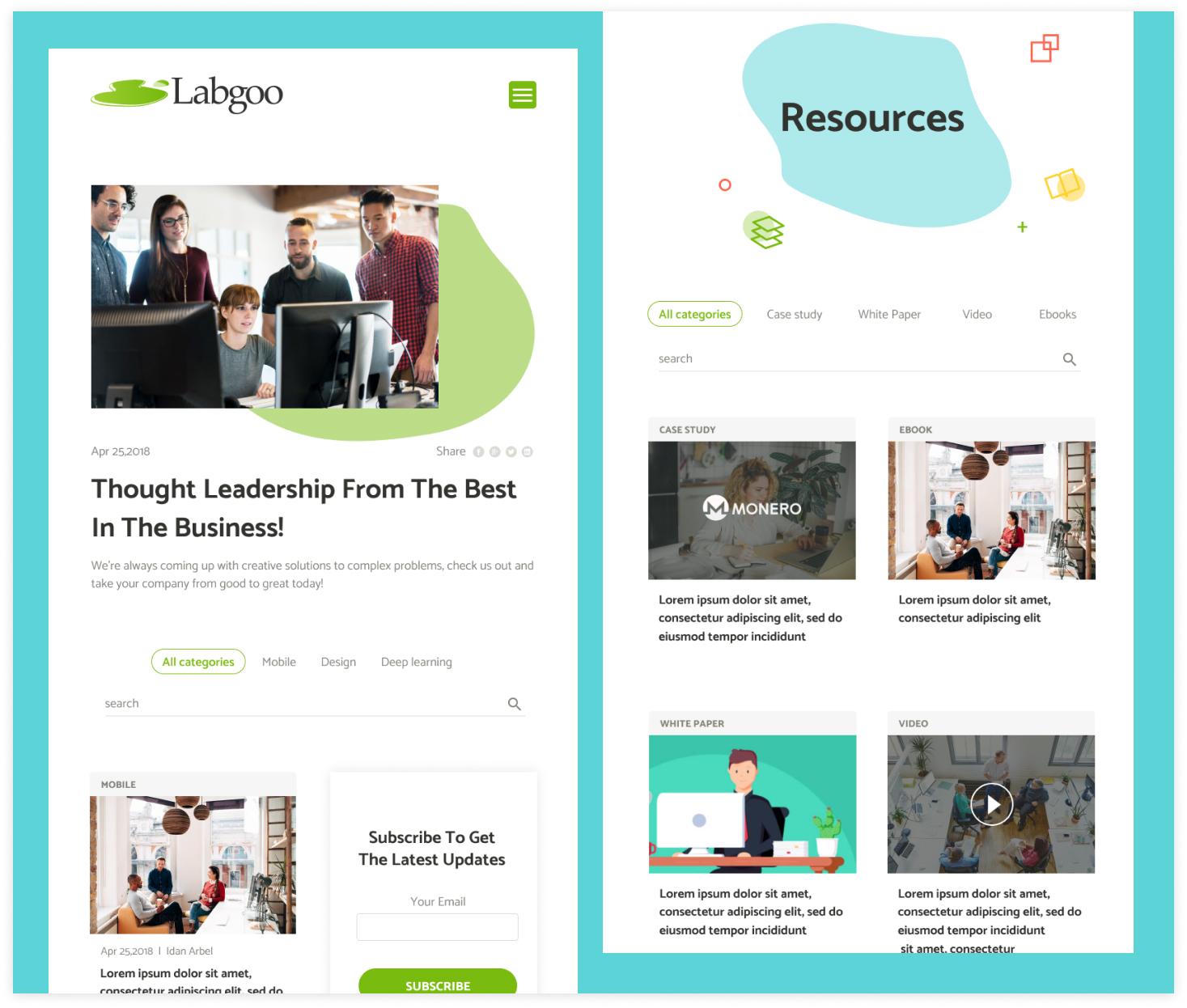 Labgoo resources