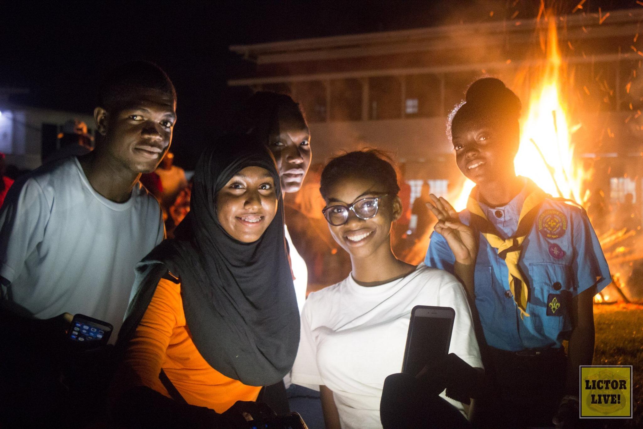 Bonfire Night at QC