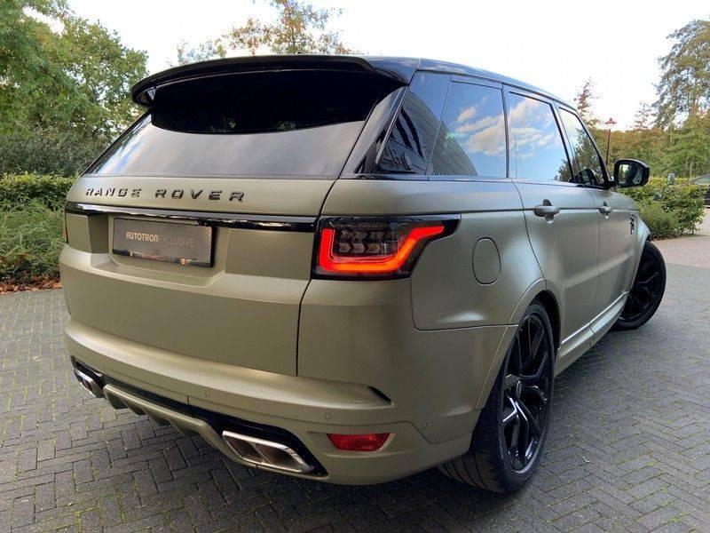 "Land Rover Range Rover Sport P575 SVR 'Solid Gloss Avocado' Carbon SVR motorkap + Drive Pro Pack + Panoramadak + 22"" + Stoelkoeling + Head-Up + Stuurwielverwarming + Carbon interieur afbeelding 2"