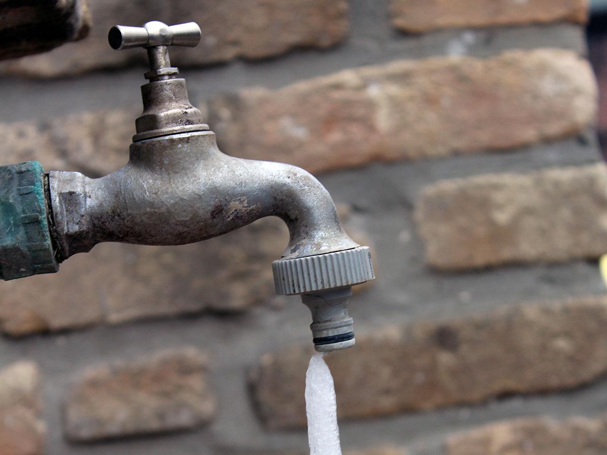 frozen faucet drip