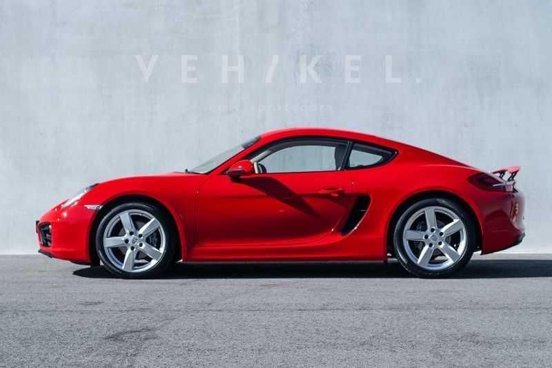 Porsche Cayman 2.7 // Handgeschakeld // Iconic Guards Red afbeelding 1