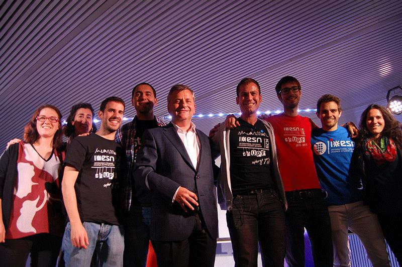 The Startup Grind Barcelona homage to ESN