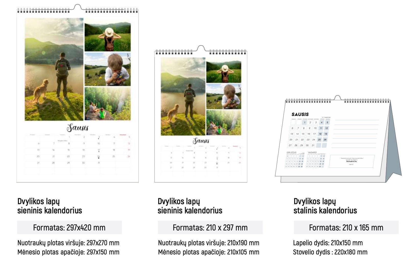 Vartomi kalendoriai
