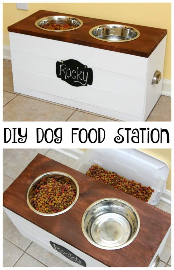 image of DIY dog station