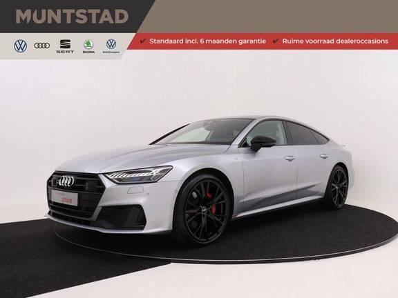 Audi A7 Sportback 55 TFSI e quattro Competition 376 PK | 21'' velgen zwart | Assistentiepakket Tour & City | 360* Camera | Head-Up | Matrix LED | Adapt. Demping | Comfortstoelen | Leder