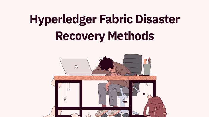 Hyperledger Fabric Disaster Recovery Methods
