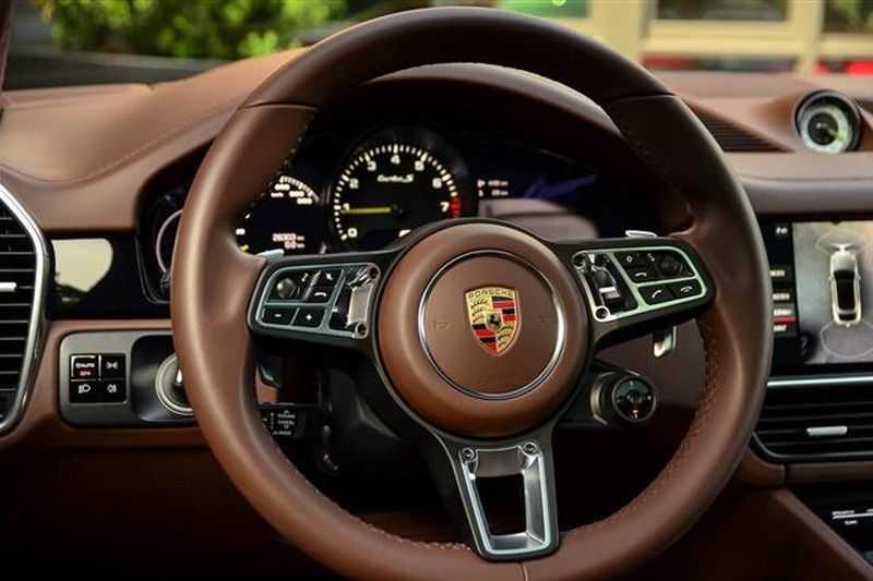 Porsche Cayenne TURBO S E-HYBRID COUPE SPORTDESIGN+BURMESTER NP.241K afbeelding 22