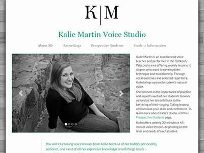 Kalie Martin Voice Studio