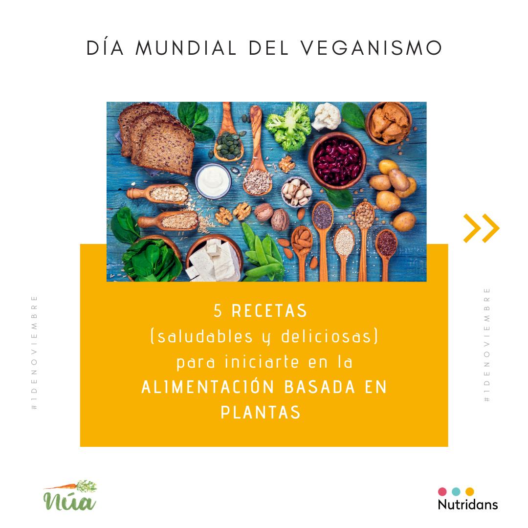 5 recetas día mundial del veganismo