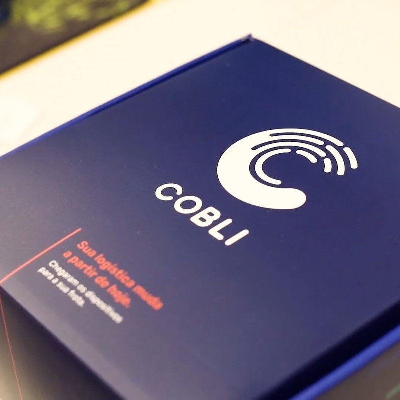Caixa do produto da Cobli