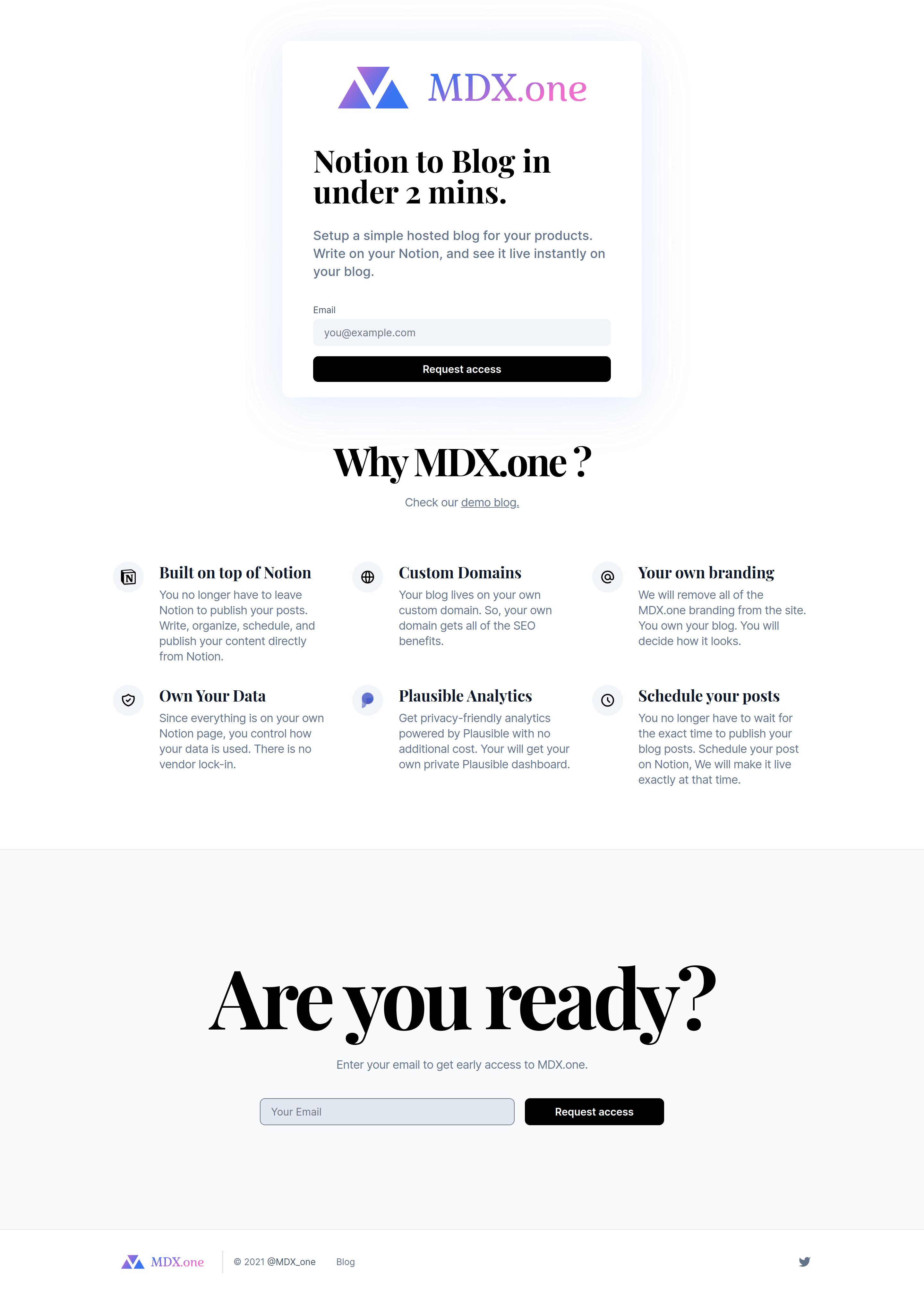'MDX' a wickedtemplates.com client