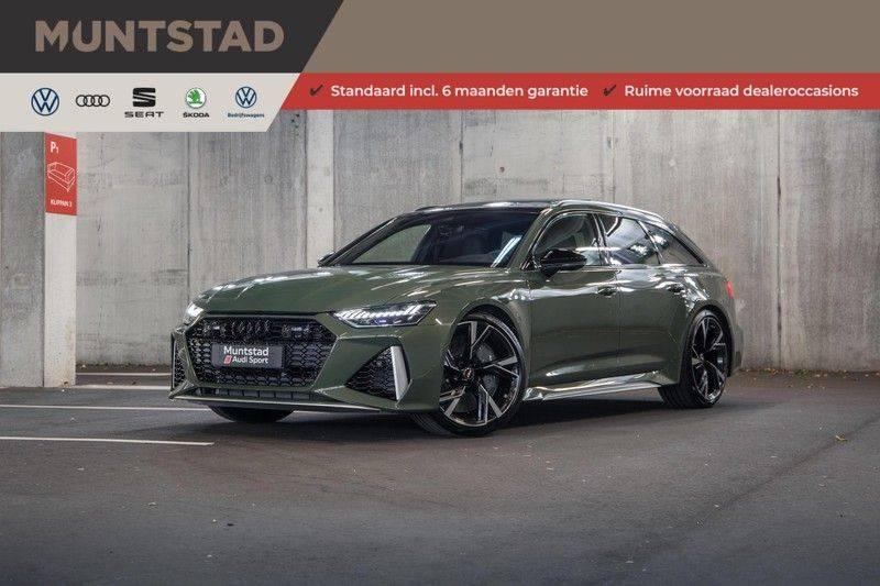 Audi RS6 Avant TFSI 600 pk quattro | 25 jaar RS Package | Dynamic Plus pakket | Keramische Remschijven | Audi Exclusive Lak | Carbon | Pano.dak | Assistentiepakket Tour & City | 360 Camera | 280 km/h afbeelding 1