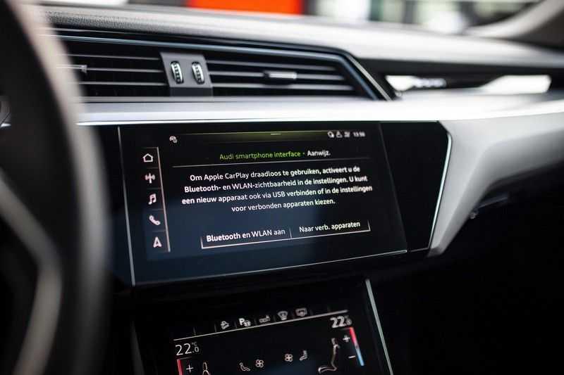 "Audi e-tron Sportback 50 Quattro S Edition *Pano / HUD / 21"" / Stad Pakket / DAB* afbeelding 18"