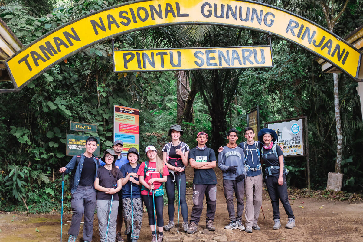 All done. And dusted. Back from Rinjani