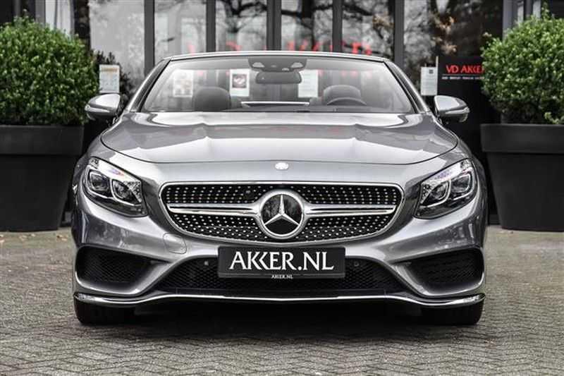Mercedes-Benz S-Klasse S500 CABRIO AMG-LINE+BURMESTER+HEAD-UP NP.201K afbeelding 23