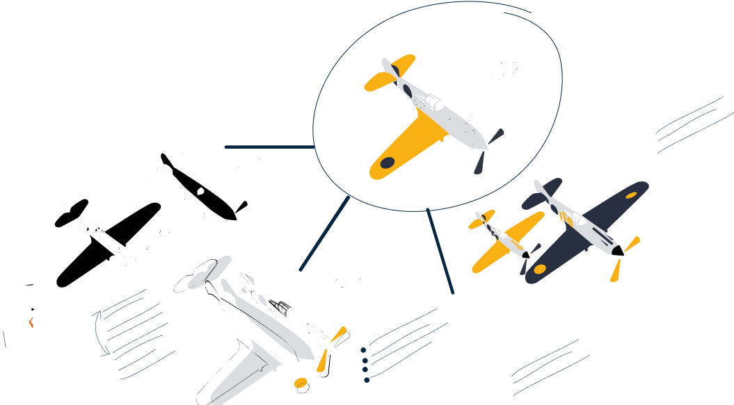 All the standard agile toolset