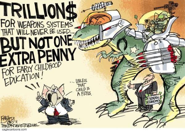 Cartoon Credit: CagleCartoons.com
