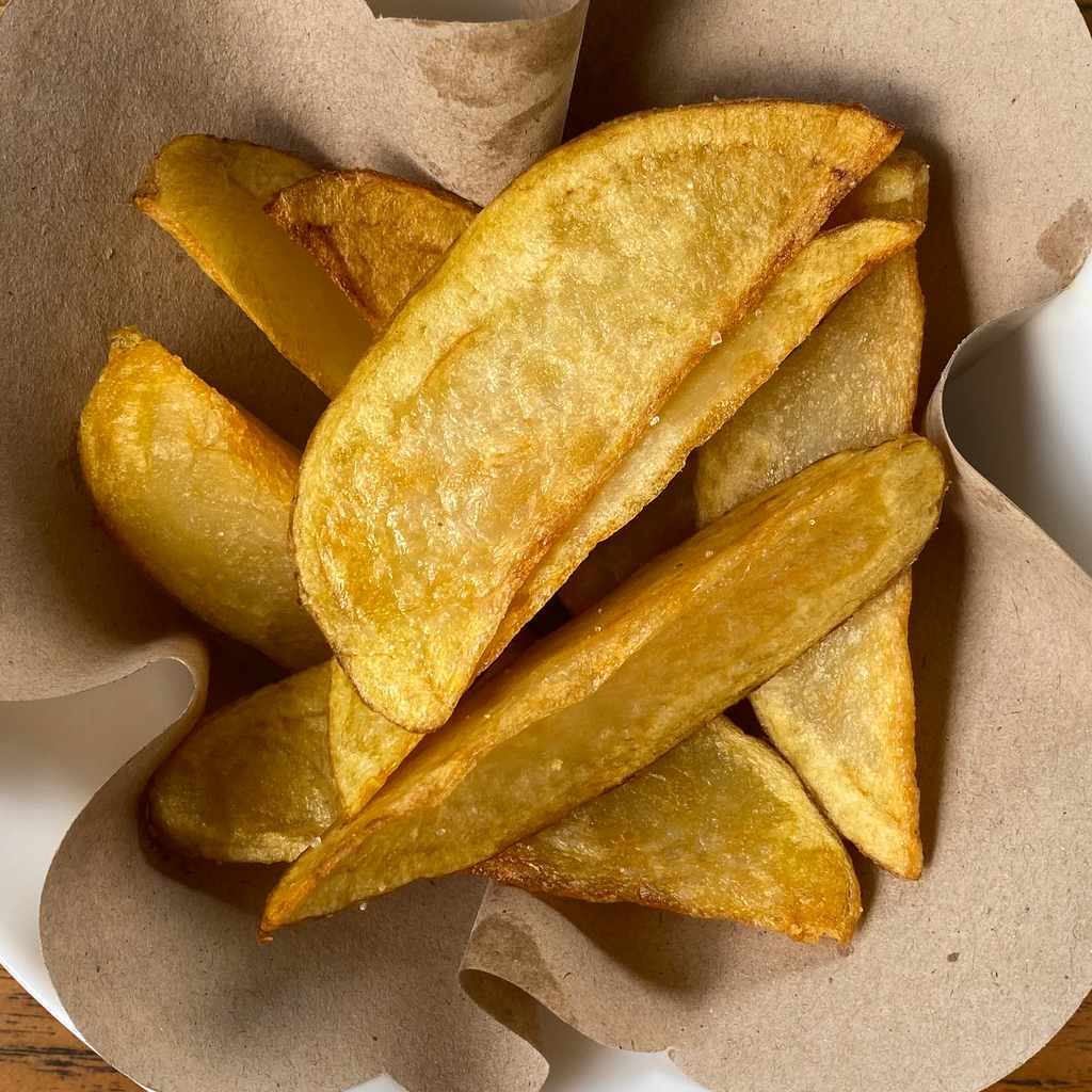 side dishes: potato wedges