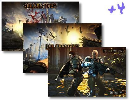 Bulletstorm theme pack