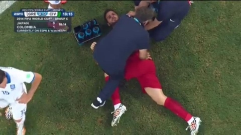 World Cup Chiropractic Action