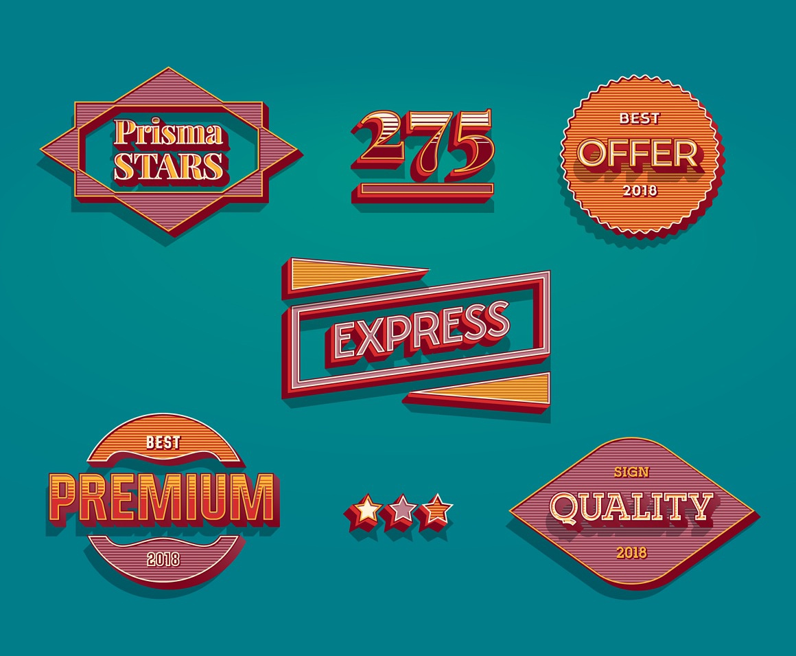 Retro Ultimate Illustrator styles images/retro_red_41_ai_styles_icons.jpg