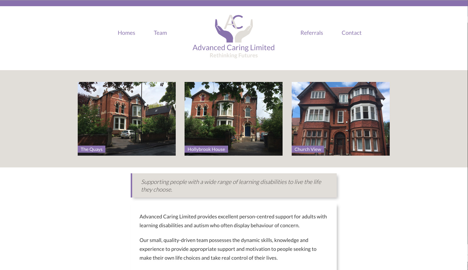 Advanced Caring Limited