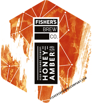 Fisher's Honey Amber pump clip