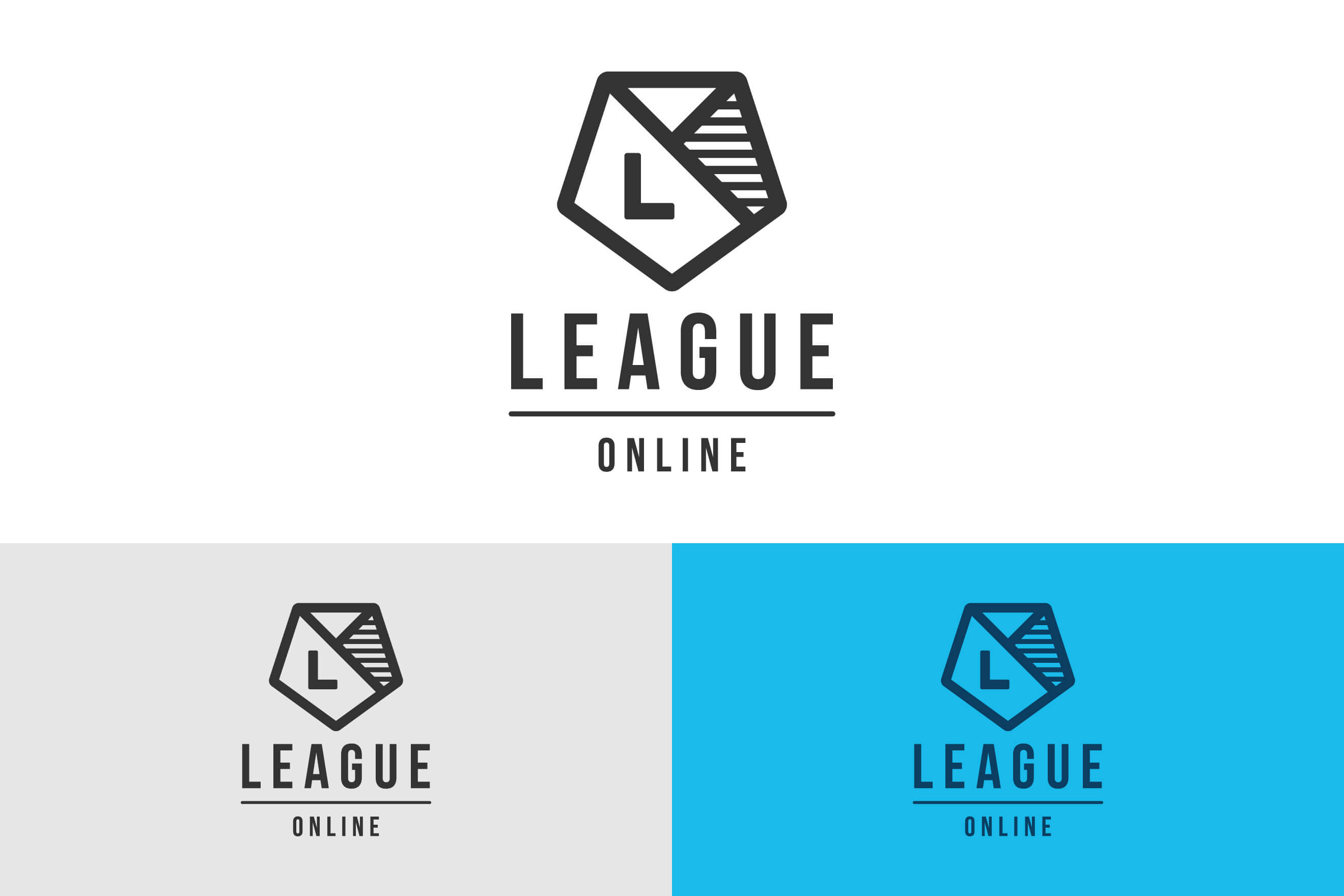 logo design for League Online