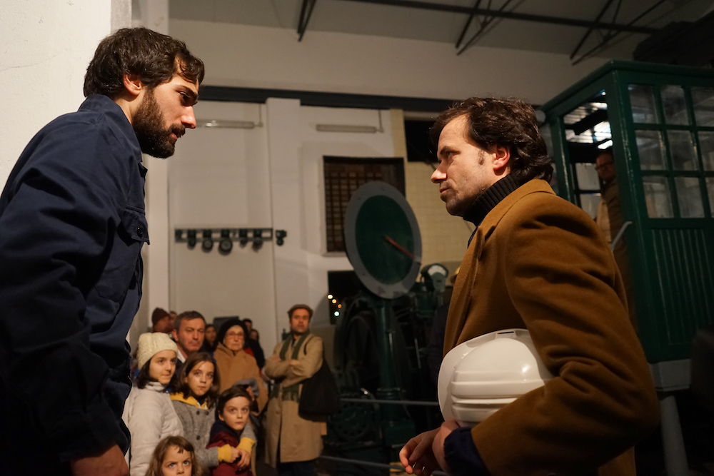 A local theatre group stages a walking play through the old mines of Urgeiriça