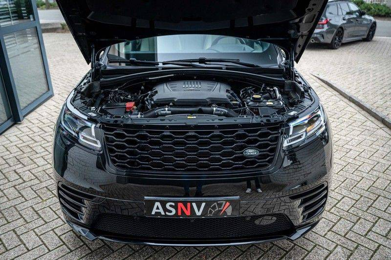 Land Rover Range Rover Velar 3.0 V6 SC AWD R-Dynamic HSE, 380 PK, Head/Up, Black/Optic, Adapt. Cruise, Pano/Dak, Luchtvering!! afbeelding 21