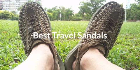 Here we have a very comfortable travel sandals, that fills me every day with ease and simplicity. This sandal is worth your money, and you will love it.
