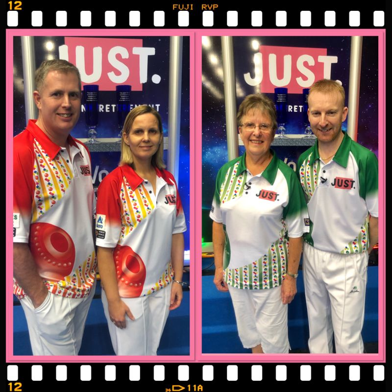 MIXED PAIRS FINALISTSDECIDED