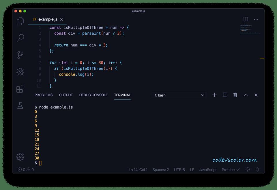 JavaScript check multiple three