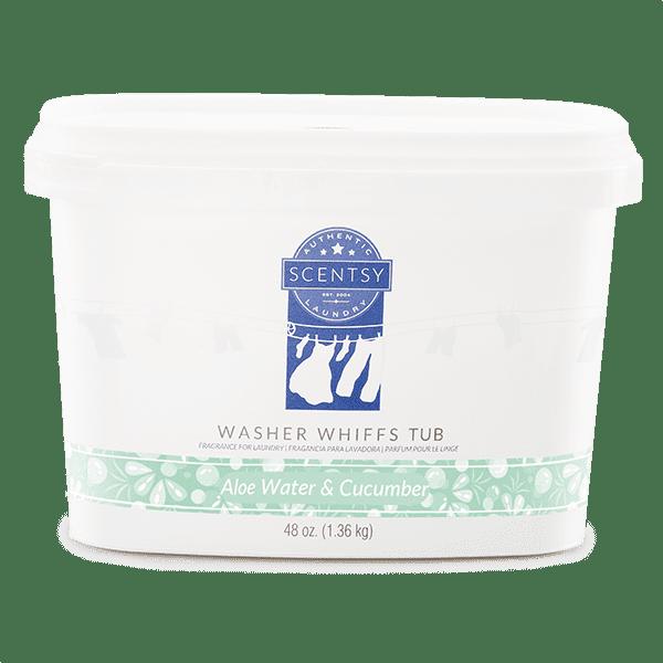 Aloe Water & Cucumber Washer Whiffs Tub