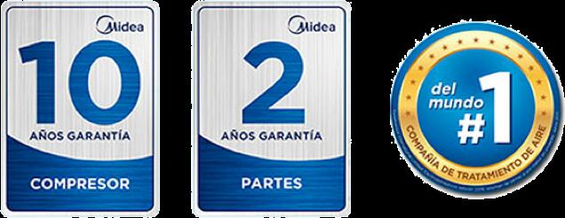 Garantía Midea