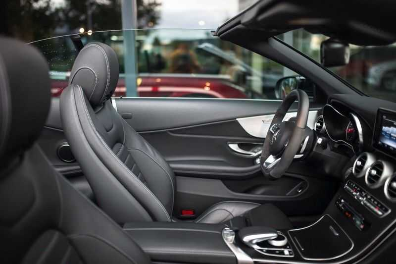 Mercedes-Benz C-Klasse Cabrio 180 Premium *AMG-Line / Airscarf / Keyless Go* afbeelding 4