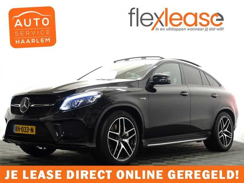 Mercedes-Benz GLE 43 AMG Coupe 4MATIC 368pk Aut- Black Series Panodak, Leer, 360 Camera,