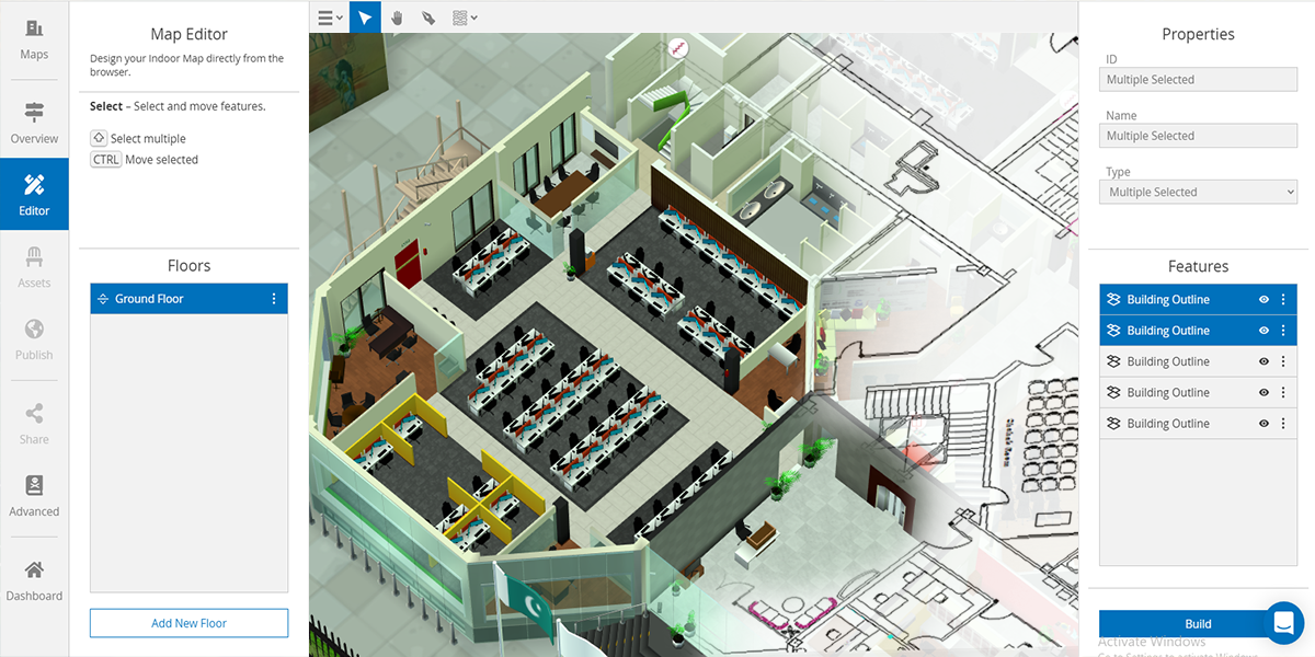 Building 3D indoor maps with WRLD - now easier than ever