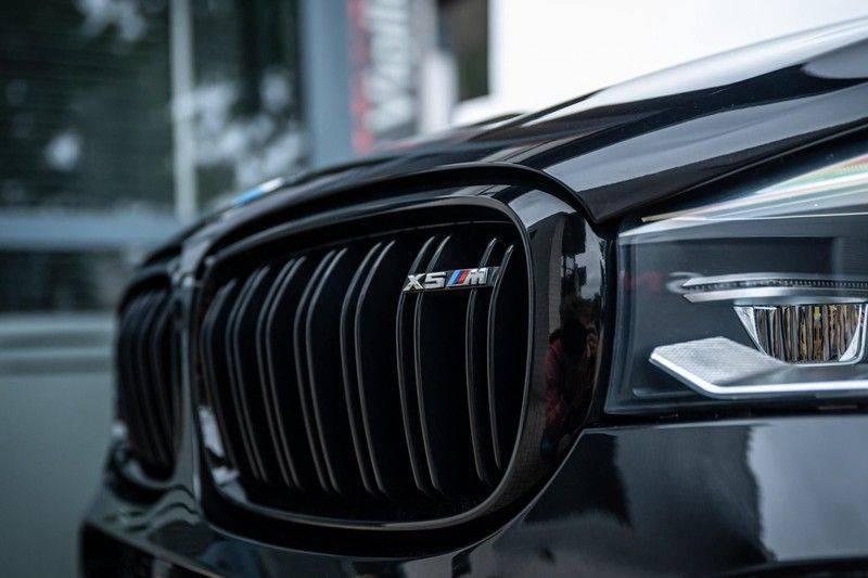 BMW X5 M, 575 PK, Pano/Dak, Leder Merino, Head/Up, Keyless, Soft/Close, Harman/Kardon, Surround View, LED, 22'' Breyton RS, 2016!! afbeelding 20