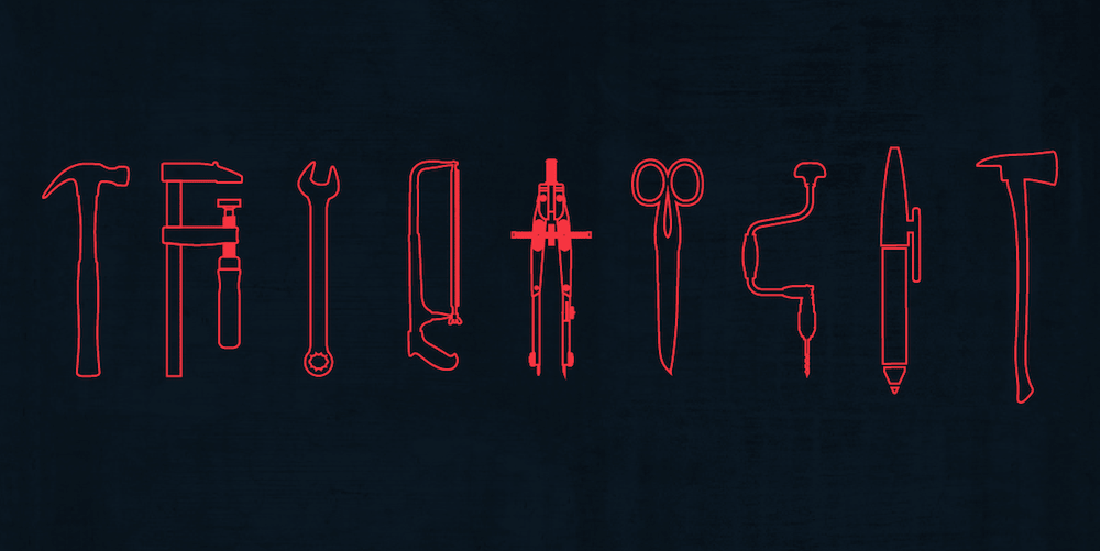 Illustration of UX designer tools