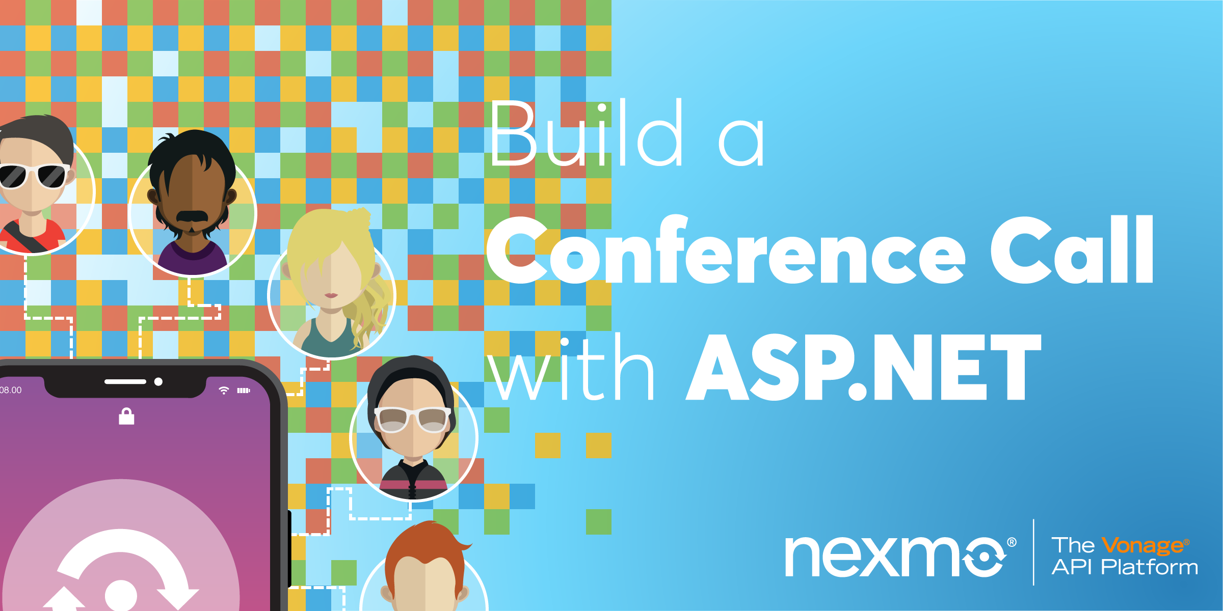 Build a Conference Call with the Nexmo Voice API and ASP.NET Core