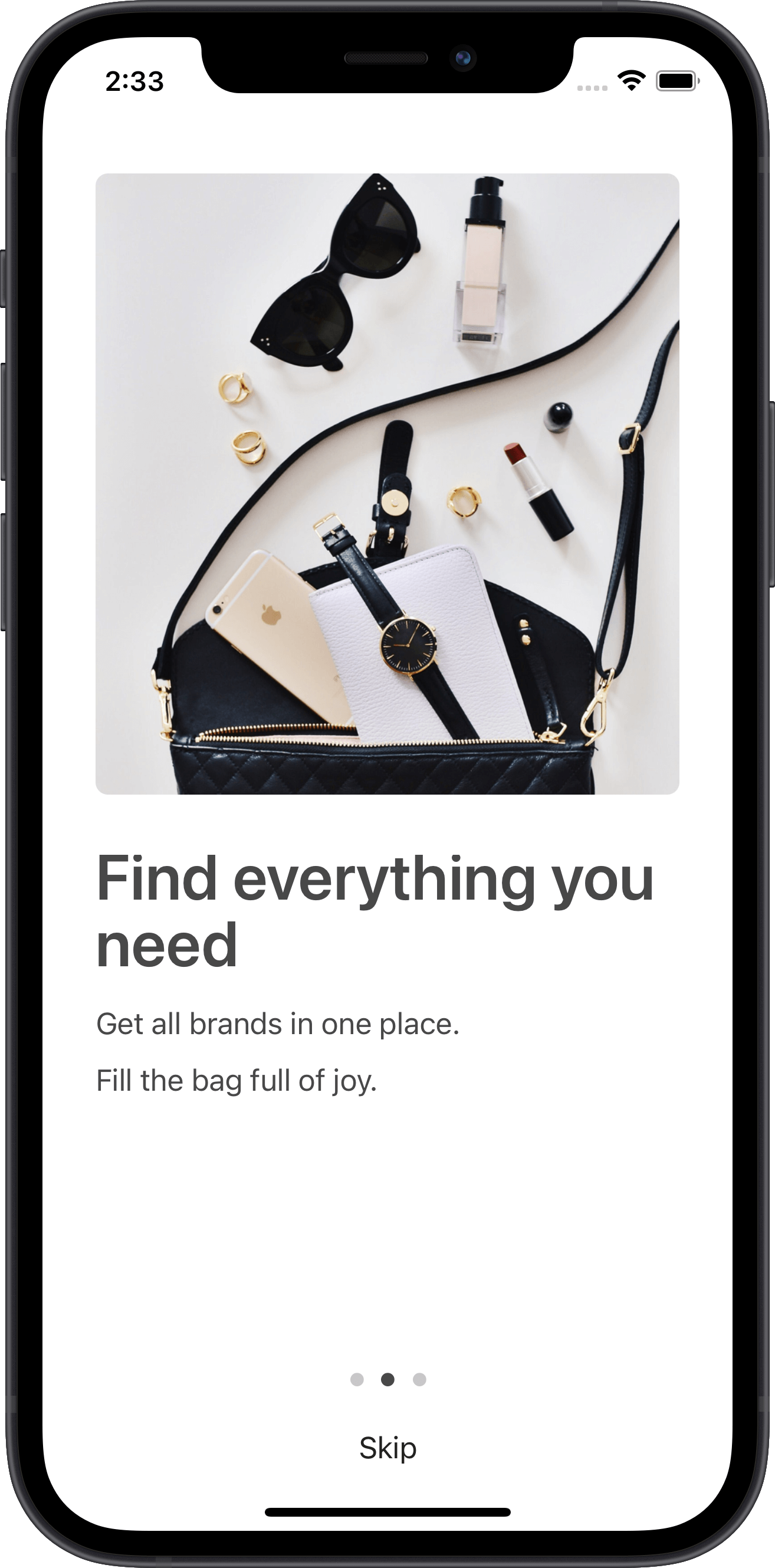 e-commerce, walktrought