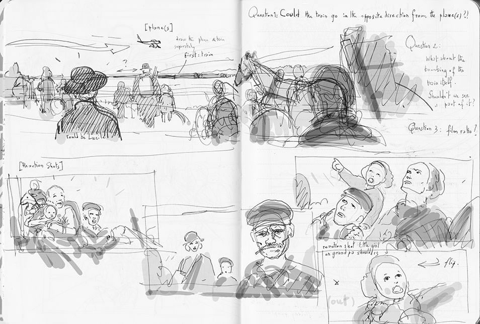 Suite Française first rough storyboard 04