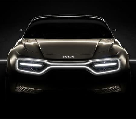 Concept image from Kia of their high performance EV due to be revealed in March 2019 at the Geneva Motor Show