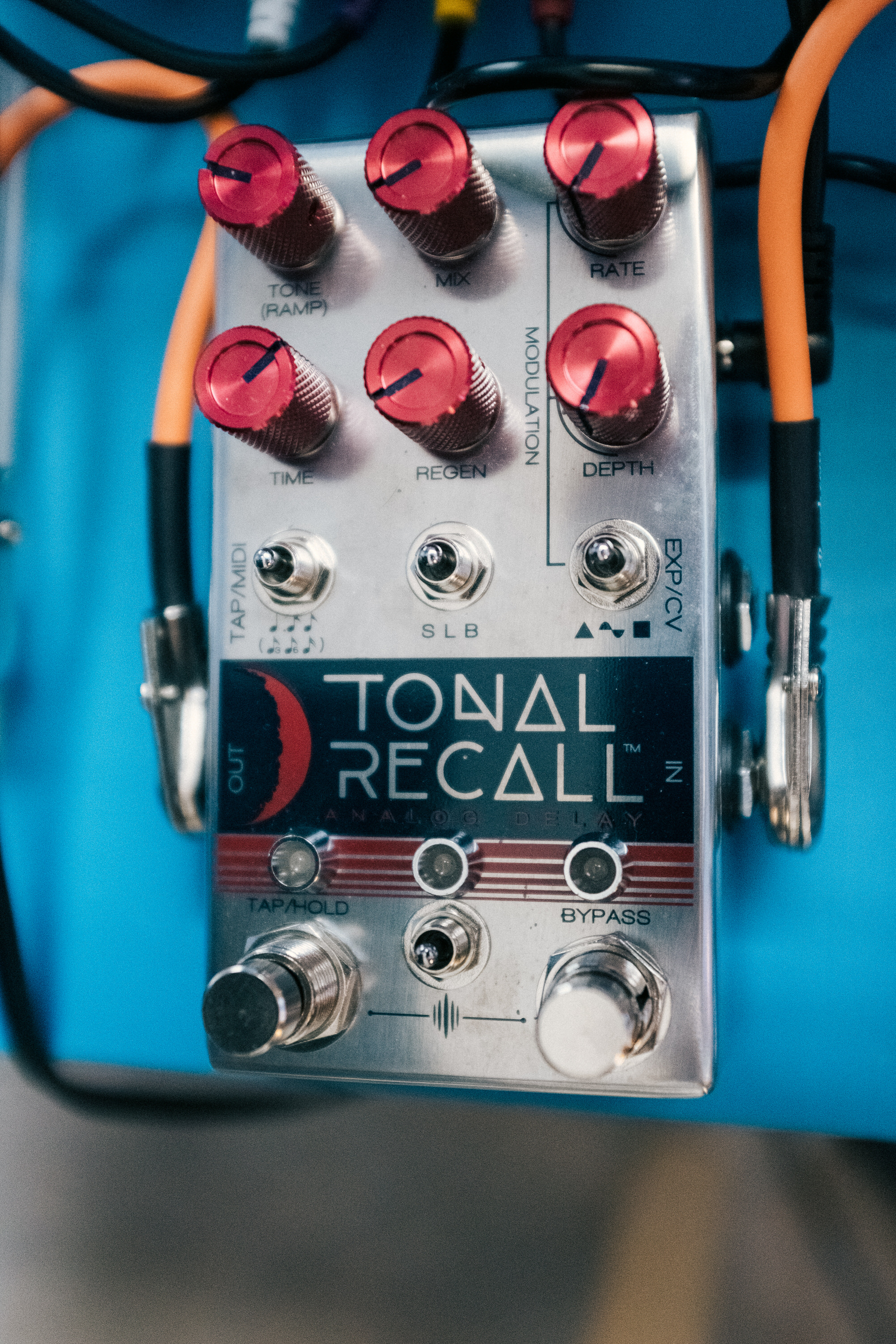 An image of the Chase Bliss Tonal Recall RKM.