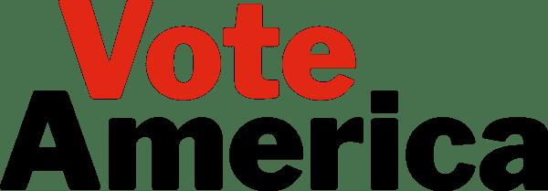 VoteAmerica logo, transparent background, small