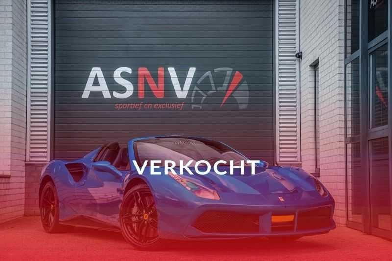 Ferrari 488 3.9 Spider HELE, 670 PK, Racing/Seats Daytona, JBL, Atelier, Blu Corsa, Liftsysteem, Scuderia Shields, 2016, 12DKM!! afbeelding 25