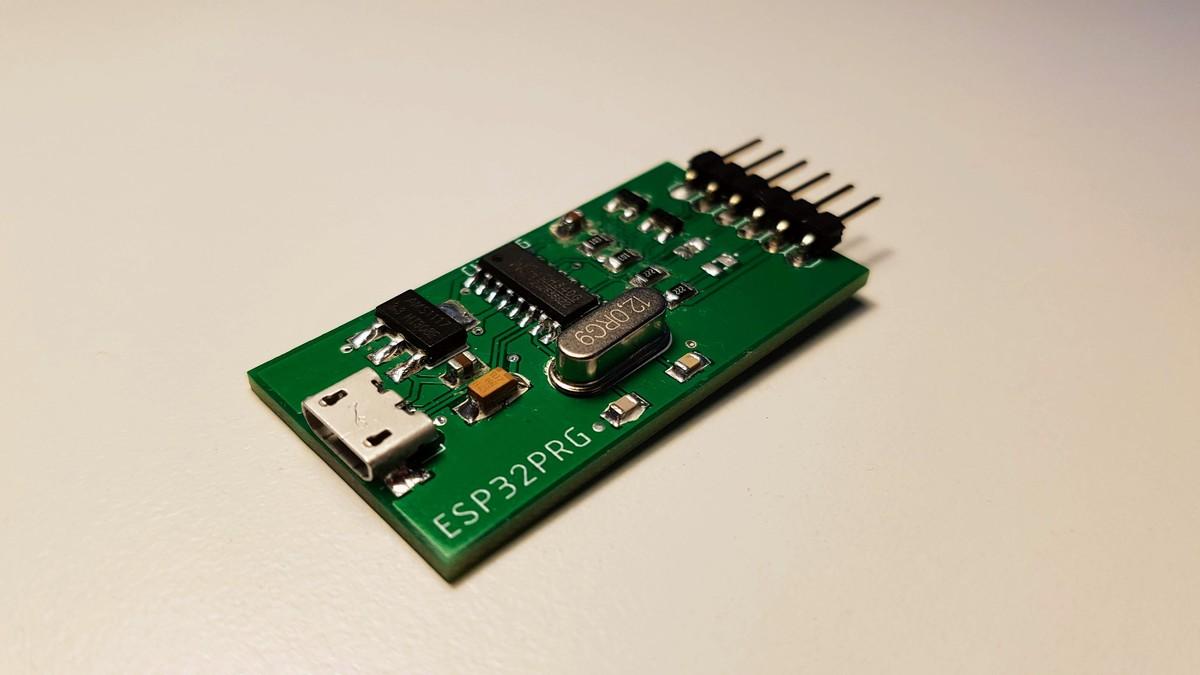 Complete CH340G programmer