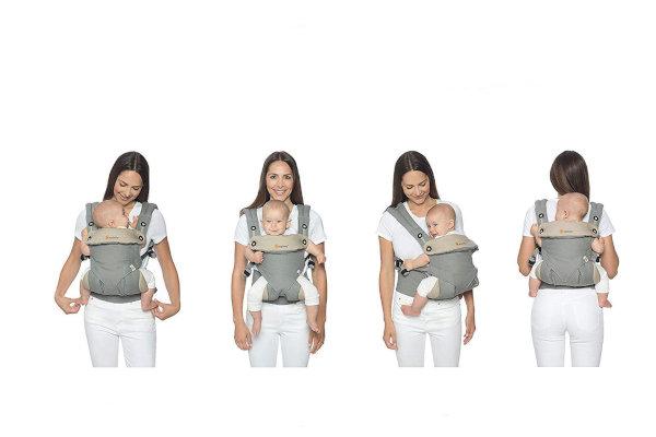 portabebes ergonomico cuatro posiciones