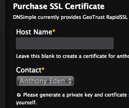 Purchase SSL Certificates
